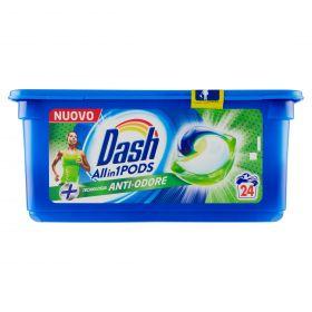 DASH PODS ANTIODORE X24 CAPS.