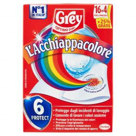 GREY ACCHIAPPACOLORE 16+4 FOGLI