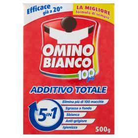 OMINO BIANCO ADDITIVO TOTALE POLVERE STD GR500+100