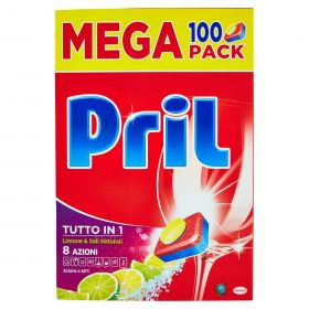 PRIL TUTTO IN 1 8 ACTIONS X 100 TABS