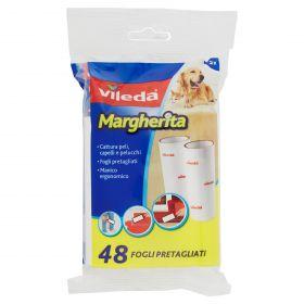 SPAZZOLA ADESIVA MARGHERITA RICAMBIO 48 FOGLI
