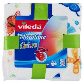 PANNO VILEDA MICROFIBRA DESIGN COLOR 3PZ