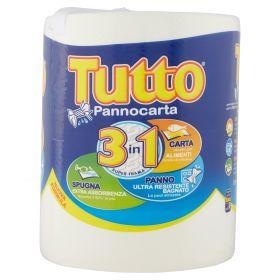 PANNO CARTA ASCIUGAT. 250 STRAPPI X 1 BOBINA