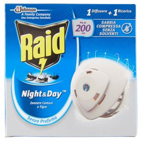 RAID NIGHT & DAY ZANZARE BASE 1H + 1 RIC.