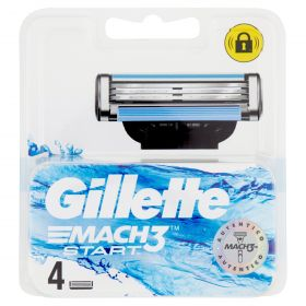 GILLETTE MACH3 LAME START x 4