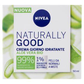 NIVEA FACE CARE NATURALLY GOOD CR.IDRAT.NORM. 50ML