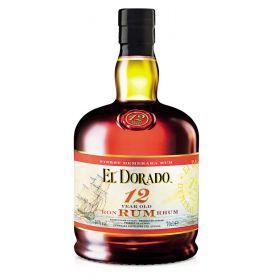 RHUM EL DORADO 12A 40°CL70 GUYANA