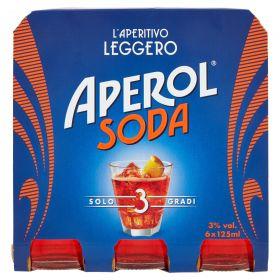 APEROL SODA CL.12,5 X 6 FAM 3°