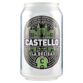 BIRRA CASTELLO DECISA UDINE LATT.CL 33 5°