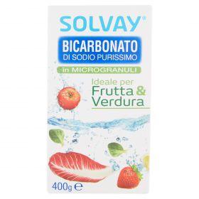 BICARBONATO SOLVAY MICROGRANULI GR.400