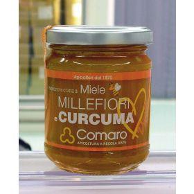 MIELE MILLEFIORI E CURCUMA GR250 COMARO