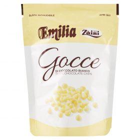 GOCCE CIOCC.BIANCO EMILIA GR180