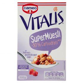 VITALIS SUPER MUESLI -30% CARBOIDRATI GR.341