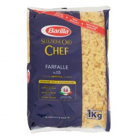 PASTA S.ORO CHEF BARIL FARFALLE N65 KG1