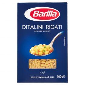 PASTA S.BARILLA DITALINI RIGATI N.47 GR.500