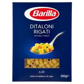 PASTA S.BARILLA DITALONI RIGATI N.49 GR.500
