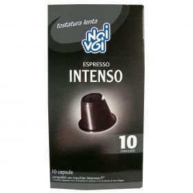 NOI&VOI CAPSULE CAFFE'INTENSO GR50 (10CAP X 5GR)