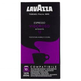 CAPSULA CAFFE'LAVAZZA COMP.NESPRESSO VIGOROSO X 10