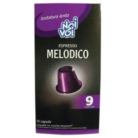 NOI&VOI CAPSULE CAFFE'MELODICO GR.50(10CAPS X 5GR)