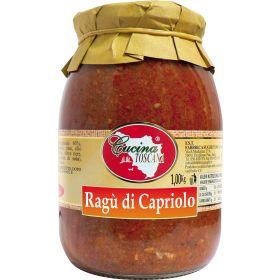 RAGU' DI CAPRIOLO KG.1 CUCINA TOSCANA
