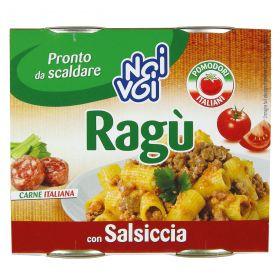 NOI&VOI RAGU CON SALSICCIA IN BARATT. GR.180X2