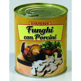 FUNGHI C/PORCINI TRIF.SIM.GR790 LATTA