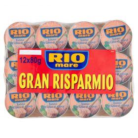 TONNO RIO MARE CONF.RISP.GR80X12