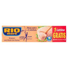 TONNO RIO MARE PESCATO A CANNA O.O.GR80X3+1