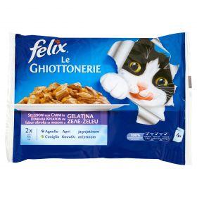 FELIX LE GHIOTTONERIE CONIGLIO&AGNALLO GR100X4