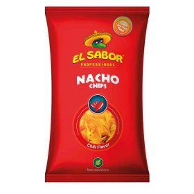 NACHOS CHIPS CHILI EL SABOR GR500