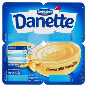 DANETTE DANONE GR125X4 CREMA DESSERT