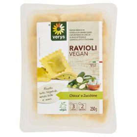 RAVIOLI VERYS VEGAN CHICCA DI RISO E ZUCCHIN.GR250