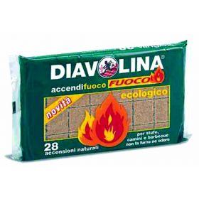 DIAVOLINA ACCENDIFUOCO NAT.X28