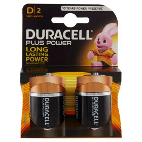 PILE DURACELL PLUS TORCIA MN 1300 2