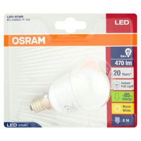 LAMP.LED STAR CLASSIC P40 WW E14 BLI