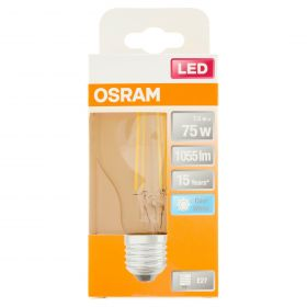 LAMP.LED STAR CLASSIC A75 CW E27 FIL CL