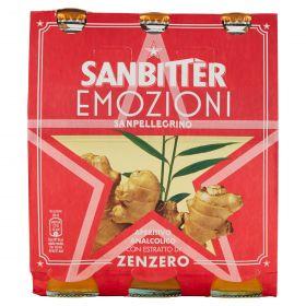 SANBITTER ZENZERO EMOZ.FRUTTA CL20X3