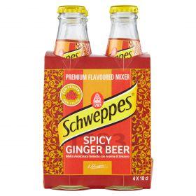 SCHWEPPES CL18X4 SPICY GINGER BEER VTR