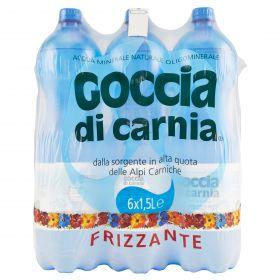 ACQUA GOCCIA FRIZZANTE LT.1,5 PET