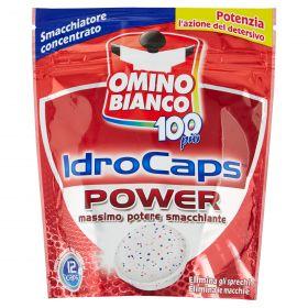 OMINO BIANCO IDROCAPS WHITE 12 CAPS