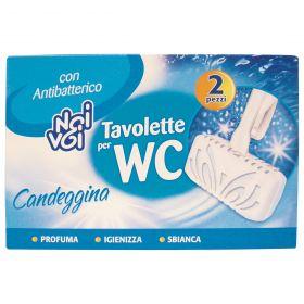 NOI&VOI 2 TAVOLETTE WC-CANDEGGINA