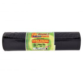 SACCO IMM.EXTRA STRONG NERO 80X120 10PZ