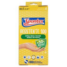 GUANTI SPONTEX MONOUSO IPOALL. X100 M/L