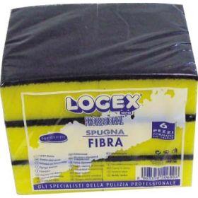 LOGEX 6 SPUGNE GR+FIB.14X9X5-701N