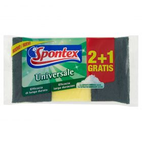 SPONTEX SPUGNA ABRASIVA UNIV.2+1