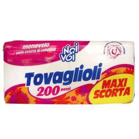 NOI&VOI TOVAGLIOLI MONOVELO X 200 PZ