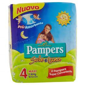 PAMPERS SOLE&LUNA MAXIX18