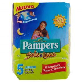 PAMPERS SOLE&LUNA JUNIOR X16
