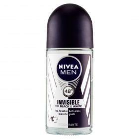 NIVEA DEO INV.BLACK&WHITEROLL ON ML50 MEN