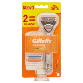 GILLETTE RASOIO FUSION STARTER PACK POWER 2U.P.